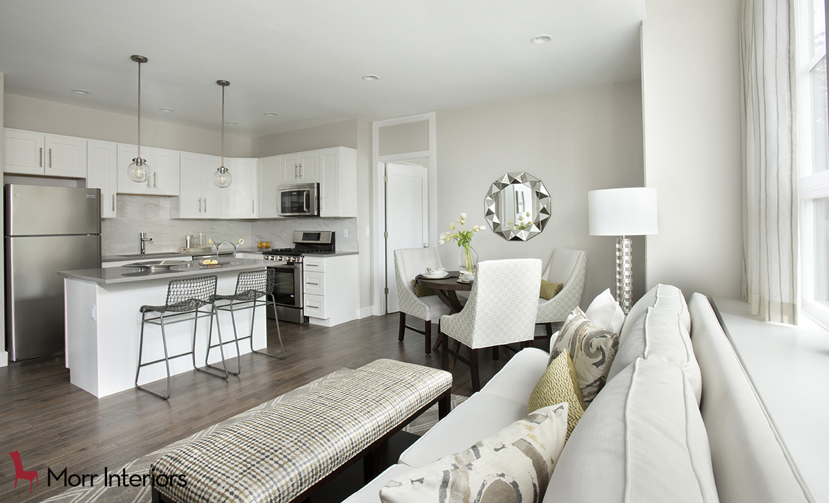 The Residences at One St Clare Overall Living Room