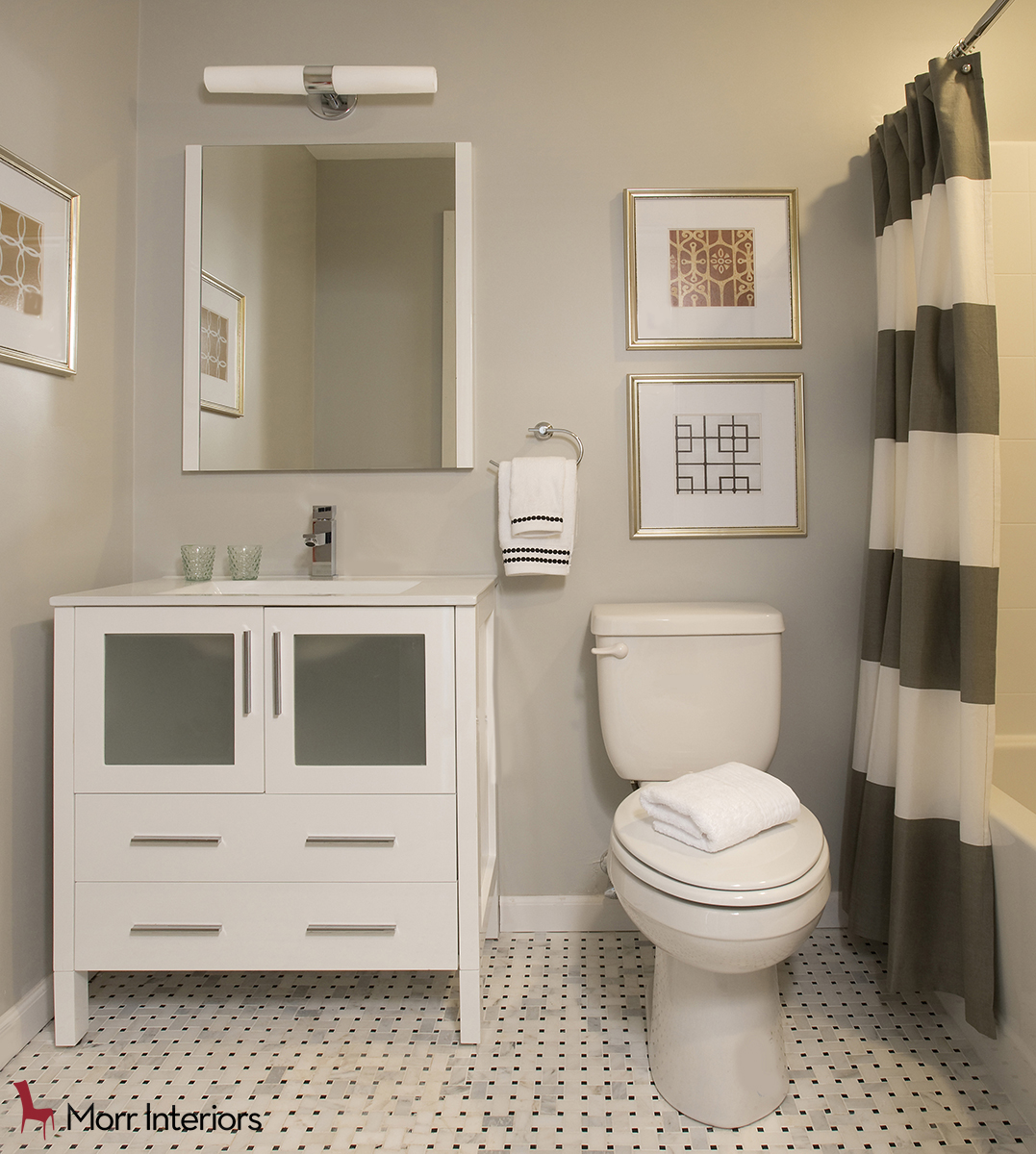 The Residences at One St Clare Upstairs Bathroom