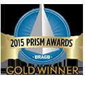 2015 Prism Logo GOLD WINNER