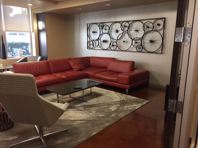 Mezzo Design Lofts Community Room Before Decor